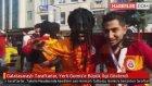 Galatasaraylı Taraftarlar, Yerli Gomis'e Büyük İlgi Gösterdi