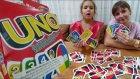 UNO SONUNDA OYNADIK, Eğlenceli çocuk videosu, toys unboxing, oyuncak alışveriş