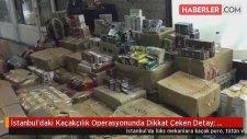 İstanbul'daki Kaçakçılık Operasyonunda Dikkat Çeken Detay: Kurye, Manken Çıktı