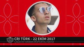 Çağatay Akman -  CRI Türk FM Röportajı