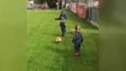 Jose Sosa'nın ikizleri Trabzonspor Tesisleri'nde!