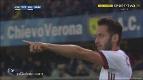 Hakan Çalhanoğlu'nun Seria A'da Attığı İlk Gol (25 Ekim 2017)