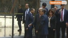 TBMM Başkanı İsmail Kahraman Özbekistan Cumhurbaşkanını Karşıladı