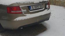 Audi A6 2.0 TDI Cold Start