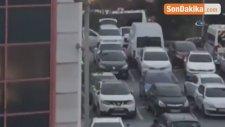 Bayrampaşa'da Ki Şüpheli Araçtan Terör Örgütü Üyeleri Çıktı