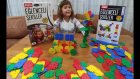 Redka Eğlenceli Şekiller, 200 Parça Farklı Bir Puzzle, Eğlenceli Çocuk Videosu, Toys Unboxing