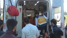 Sakatlanan Futbolcu Sedye Üzerinde Dakikalarca Ambulans Bekledi