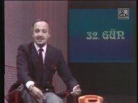 32. Gün Programının İlk Anonsu (1985 - Mehmet Ali Birand)