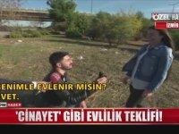 Cinayet Süsü Vererek Evlenme Teklifi Yapmak - İzmir
