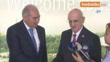 Meclis Başkanı Kahraman'dan İbb Başkanı Mevlüt Uysal'a 'Hayırlı Olsun' Ziyareti