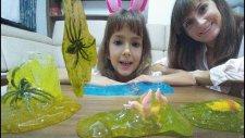 İçlerinde Oyuncak Olan Hazır Slimelar Açtık Karşılaştırdık, Eğlenceli Çocuk Videosu, Toys Unboxing