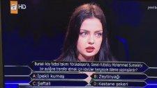 Kim Milyoner Olmak İster Yarışmasında İlginç Bursa Sorusu