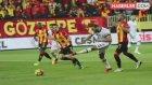 Göztepeli Taraftarlar, Beşiktaş Maçında Küfürlü Pankart Açtı