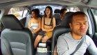 Taksicinin Parasını Hortumlayan Arsız Kızlar