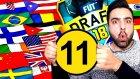 11 Farklı Ülke Alma Challenge ! Fut Draft Survivor