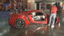 Fast & Furious 7'de Araba Sahnesi Nasıl Çekildi?