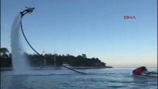 Flyboard Şampiyonu Uğur Piro'nun Bacağı Kırıldı
