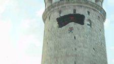 Cengiz Koçak'ın Galata Kulesi'nden ikinci Hezarfen Atlayışı