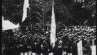 1937 Japonya'da Ertuğrul Anıtı'nın Açılışı