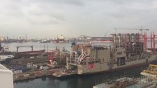 Tuzla Tersanesi'ndeki Gemilerin 10 Kasım Anması
