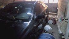 Hırsızlığa Gelip Arabanın Üzerine Sıçmak