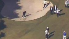 Japonya Başbakanı Şinzo Abe Golf Çukuruna Yuvarlandı