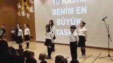 İzmir Güzelbahçe Mektebim 10 Kasım En Büyük Yasım Müzik Öğretmeni Seyhan Özerdinç Yonar