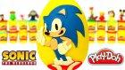 Kirpi Sonic Sürpriz Yumurta Oyun Hamuru - Power Rangers