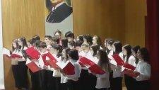 Ankara Batıkent Mektebim Okulu Çanakkale Geçilmez Oratoryosu Müzik Öğretmeni Döndü Dulkadir