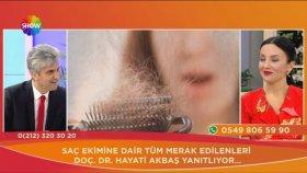 Doç. Dr. Hayati Akbaş-Saç Ekimi Operasyonlarında Kaç Seans Yeterlidir ?- Show Tv