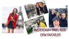 Ekim Favorileri + Paris, Amsterdam Vlog, Dünyanın En Tatlı Görümcesi :)