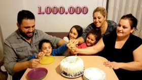 Habersiz Gelen Sürpriz Bir Milyon Kutlaması İlginç Kutlama !!