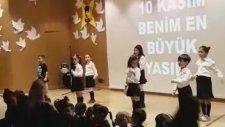 İzmir Güzelbahçe Mektebim Okulu 10 Kasım En Büyük Yasım Müzik Öğretmeni Seyhan Özerdinç Yonar