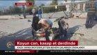 Kaza Yapan Motosikletten Benzin Çalan Vicdansız
