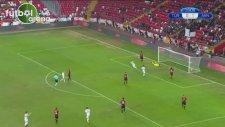 Sadiku'nun Türkiye'ye attığı 2.  gol