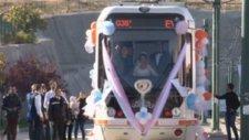 Tramvay Gelin Arabası Oldu