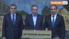 AK Parti Genel Başkan Yardımcısı Eker'den Büyükşehir Belediyesi'ne Ziyaret