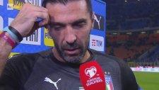 Buffon'un Ağlayarak Milli Takımı Bırakması