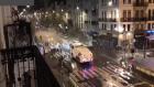 Fas'ın Brüksel kutlamalarında 22 polis yaralı