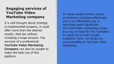 Importance of YouTube Video Marketing Company for Online Business