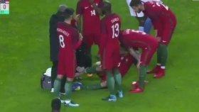 Beşiktaşlı Pepe, Portekiz Maçında Sakatlandı