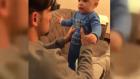 Serdar Gürler Bebeğini Korkuttu