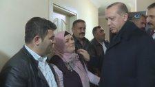Cumhurbaşkanı Erdoğan Şehit Eren Bülbül'ün Evini Ziyaret Etti