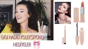 Maybellıne ' Gıgı Hadıd' Koleksiyonundan Eyeliner, Maskara, Ruj İnceleme + Hediye