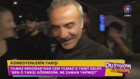 """Cem Yılmaz'ın """"Komedyenlere Tur Bindirdim"""" Sözüne Yılmaz Erdoğan'dan Cevap: O Yarışı Görmedim"""
