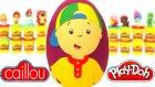 Caillou Sürpriz Yumurta Oyun Hamuru Play Doh - Minyonlar Maşa Cicibiciler