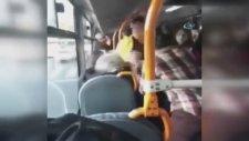 Halk Otobüsünde Kadınların Saç Saça Koltuk Kavgası