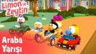 Limon ile Zeytin - Araba Yarışı  - Trt Çocuk Bölümleri | Çizgi Film