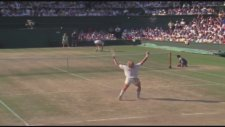 Boris Becker Becomes Wimbledon's Youngest Men's Singles Champion İn 1985