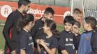 Çocuklar Lionel Messi'yi Görünce